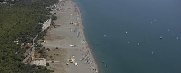 spiaggia e lungomare di Policoro