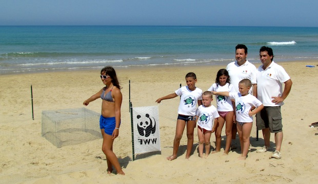 Escursione al WWF di Policoro