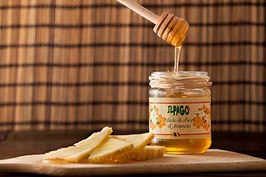 Miele fiori arancio biologico azienda agrituristica Il Pago