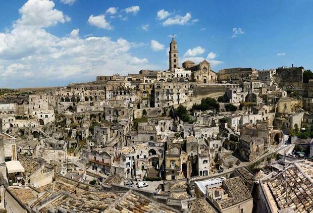 Panoramica Sassi di Matera