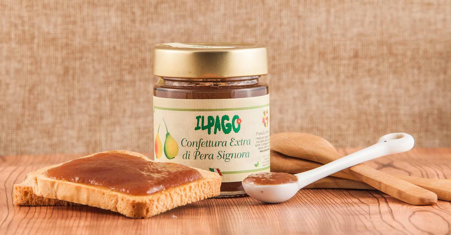 Confettura Extra di Pera Signora - Presidio Slow Food