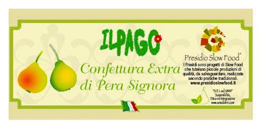 Confettura Extra di Pera Signora Presidio Slow Food