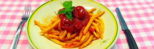 Frizzuli piatto tipico ristorante agriturismo