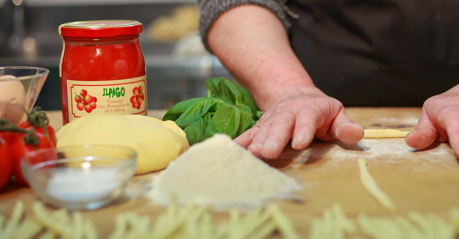 Pasta fatta in casa Il Pago Agriturismo
