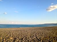 La spiaggia jonica vicino l'griturismo