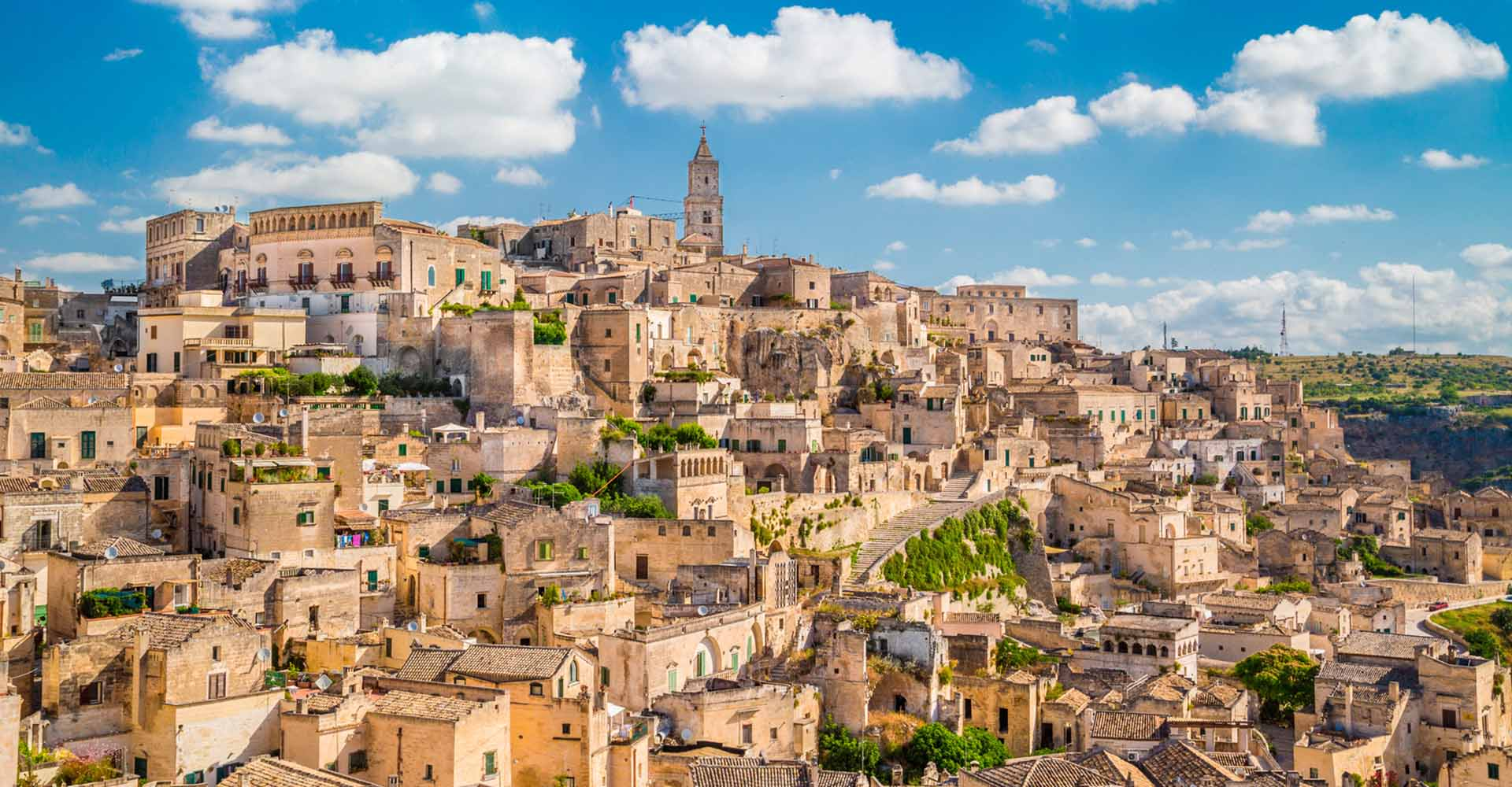 Matera la città dei Sassi Patrimonio dell'UNESCO - Capitale Europea della Cultura
